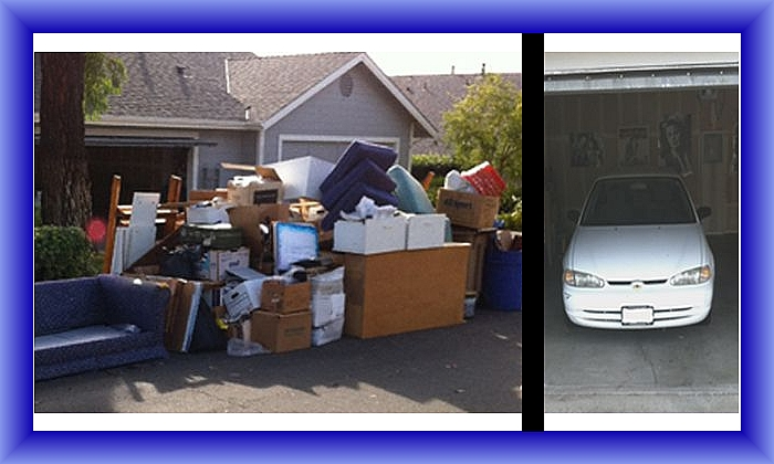 Garage Organizing Before And After Organizer Emedia