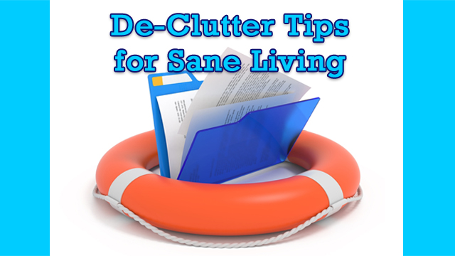 Files rescue declutter