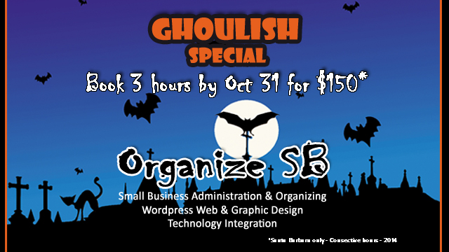 Ghoulish Newsletter Halloween - 2014